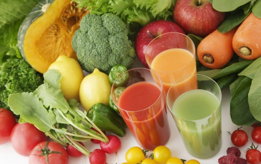 Fresh-vegetable-juice-diet